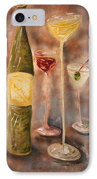 Wine Or Martini? IPhone Case