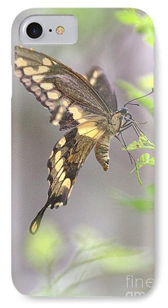 Winged Ballet IPhone Case by Anne Rodkin