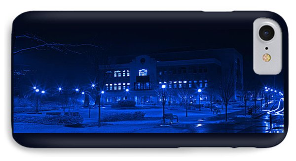 Winter Blues - Love In The Library IPhone Case by John Stephens