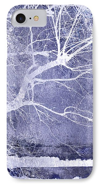 Winter Blues Phone Case by Ann Powell