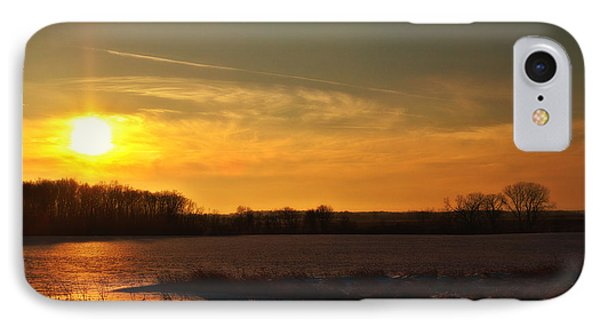 Winter Country Sunset IPhone Case by Joel Witmeyer