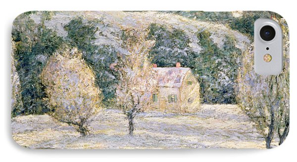 Winter IPhone Case by Ernest Lawson