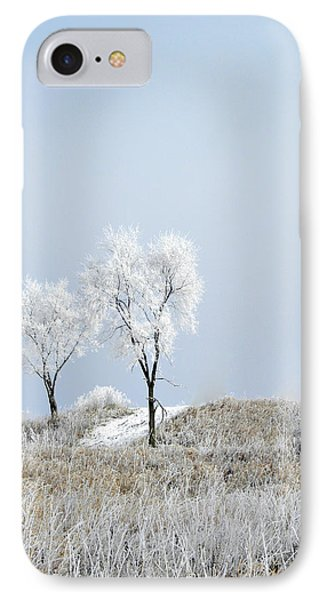 Winter Frost Phone Case by Julie Palencia