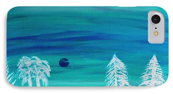 Winter Glow Phone Case by Jeannie Atwater Jordan Allen