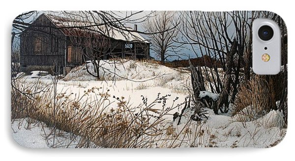 Winter In Prince Edward County Phone Case by Robert Hinves