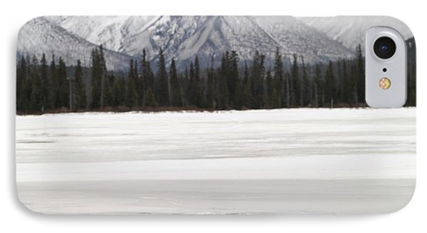 Winter Landscape, Banff National Park Phone Case by Keith Levit