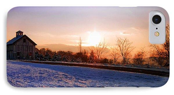Winter Landscape Connecticut Usa Phone Case by Sabine Jacobs