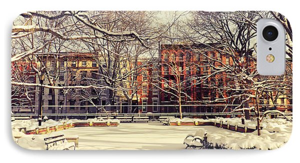 Winter - New York City IPhone Case by Vivienne Gucwa