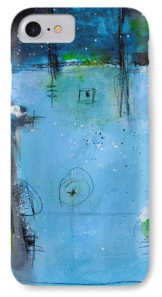 IPhone Case featuring the painting Winter by Nicole Nadeau
