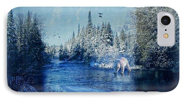 Winter Paradise Phone Case by Lianne Schneider