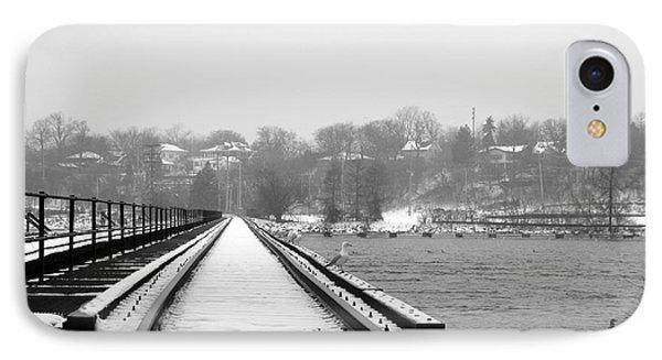 Winter Rails Phone Case by Joel Witmeyer
