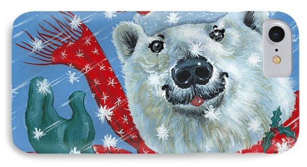 Winter Really Is A Blast Phone Case by Richard De Wolfe