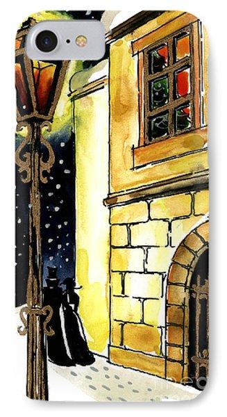 Winter Romance IPhone Case by Mona Edulesco