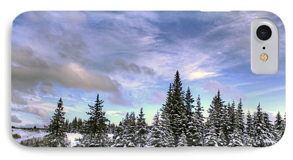 IPhone Case featuring the photograph Winter Sky by Michele Cornelius