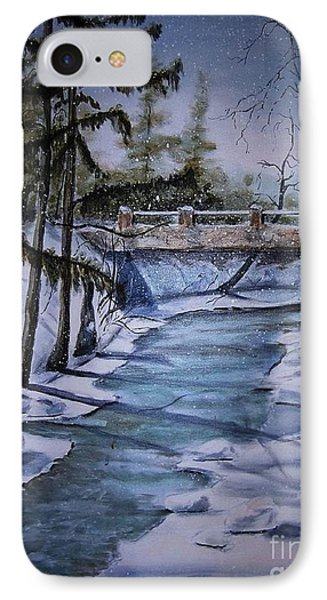 Winter Solitude Phone Case by Marylyn Wiedmaier