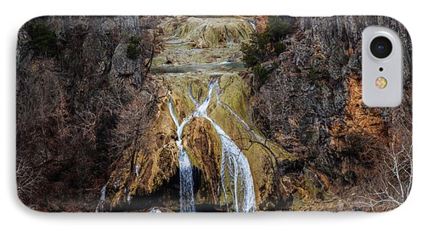 Winter Time At The Falls IPhone Case by Doug Long