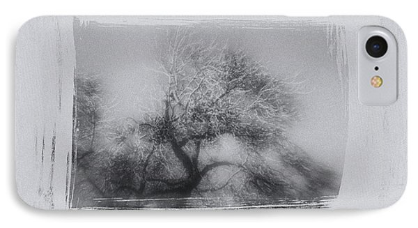 Winter Trees Phone Case by David Ridley
