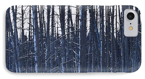 Winter Trees Phone Case by Artist and Photographer Laura Wrede