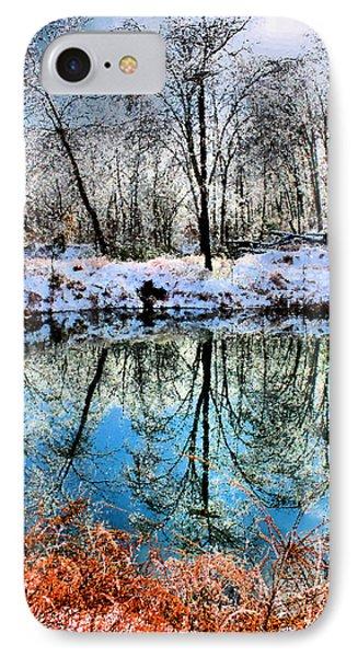 Winter Wonder Phone Case by Kristin Elmquist