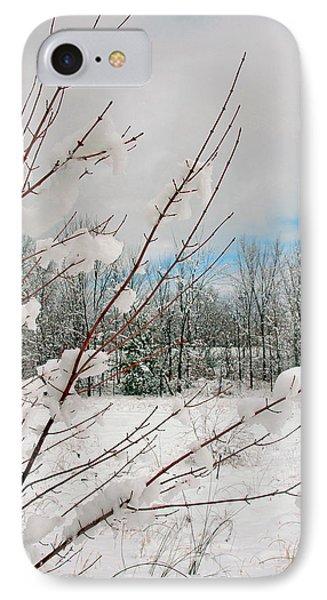 Winter Woods IPhone Case by Joann Vitali