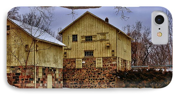 IPhone Case featuring the photograph Winters Mill by Rachel Cohen