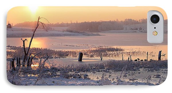 IPhone Case featuring the photograph Winter's Morning by Elizabeth Winter