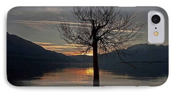Wintertree In The Evening Phone Case by Joana Kruse