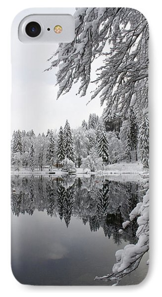 Wintery Reflections IPhone Case