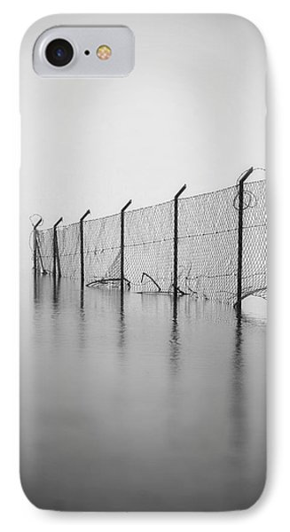 Wire Mesh Fence IPhone Case by Joana Kruse