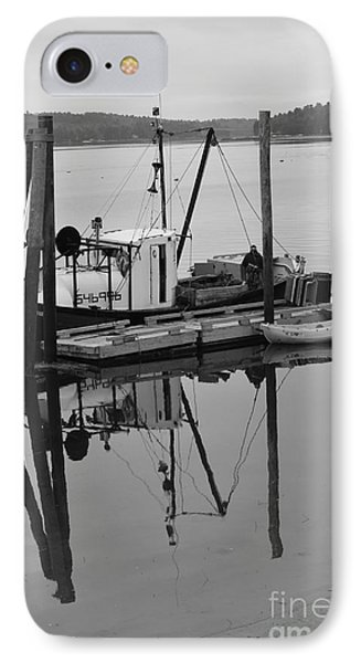 Wiscasset Reflection Phone Case by Catherine Reusch  Daley