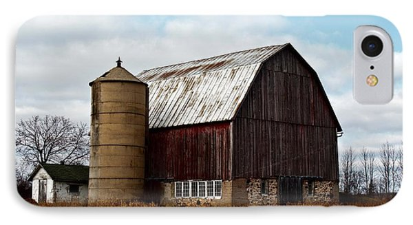 Wisconsin Dairy Barn Phone Case by Ms Judi