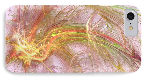 IPhone Case featuring the digital art Wispy Willow by Kim Sy Ok