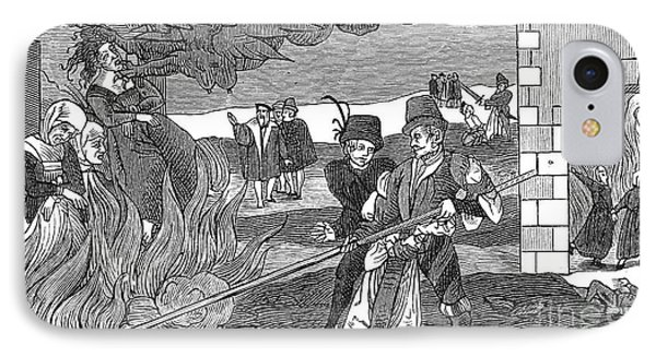 Witch Burning, 1555 Phone Case by Granger