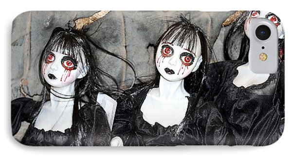 Witches Of Hallow's Eve Phone Case by Elizabeth Winter