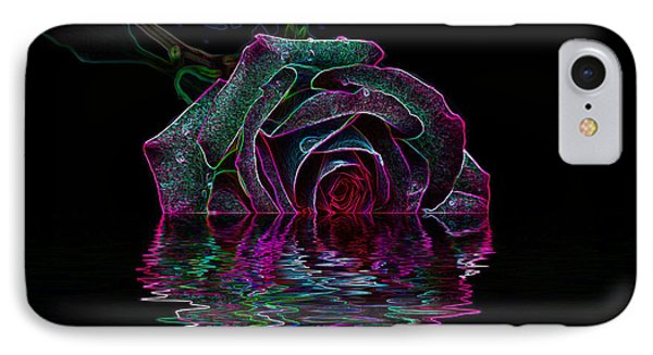 With A Glow IPhone Case by Doug Long