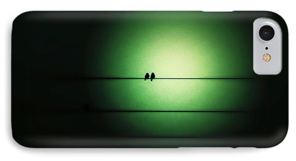 Within The Emerald Glow IPhone Case