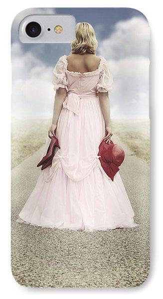 Woman On A Street Phone Case by Joana Kruse