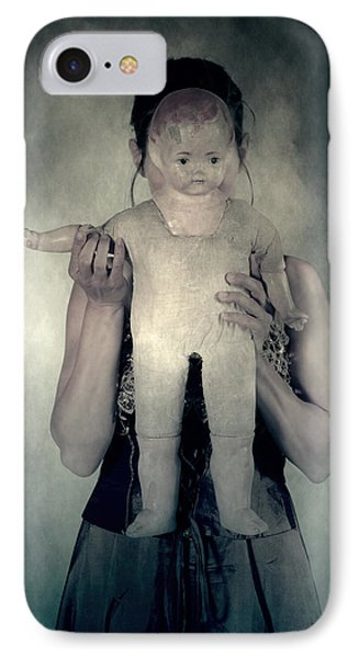 Woman With Doll Phone Case by Joana Kruse