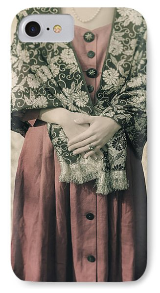 Woman With Shawl Phone Case by Joana Kruse
