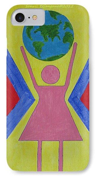 Women Rule The World Phone Case by Sonali Gangane