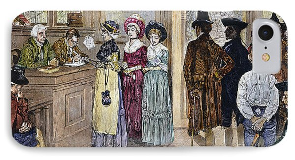 Women Voting Phone Case by Granger