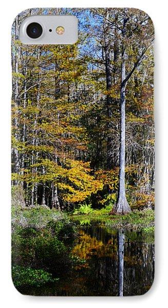 Wood Duck Pond Phone Case by Melanie Moraga