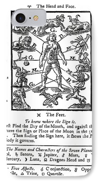 Woodcut, 1750 Phone Case by Science Source