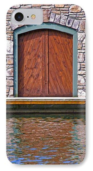 Wooden Door Phone Case by Susan Leggett