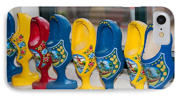IPhone Case featuring the digital art Wooden Shoes by Carol Ailles