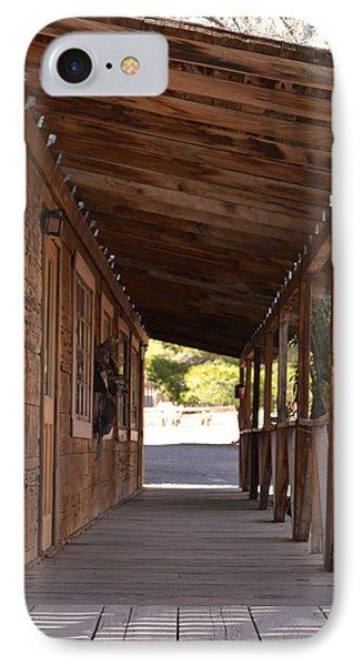 Wooden Walk IPhone Case