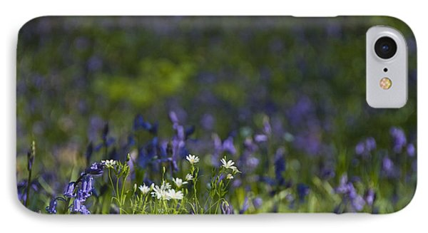 IPhone Case featuring the photograph Woodland Flowers by Trevor Chriss