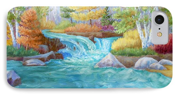 Woodland Stream IPhone Case by Irene Hurdle
