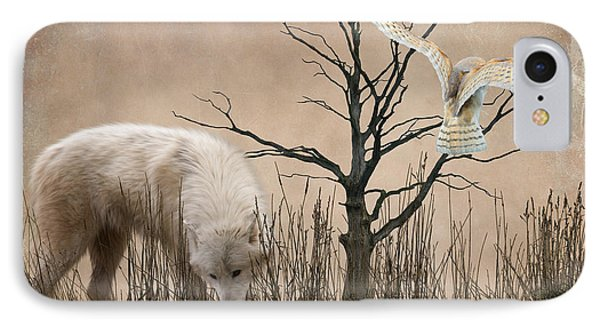 Woodland Wolf Phone Case by Sharon Lisa Clarke