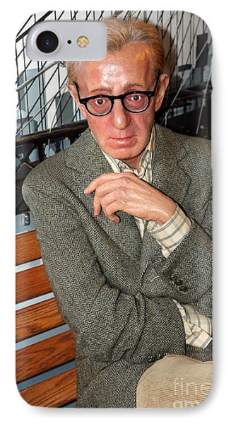 woody Allen Phone Case by Sophie Vigneault
